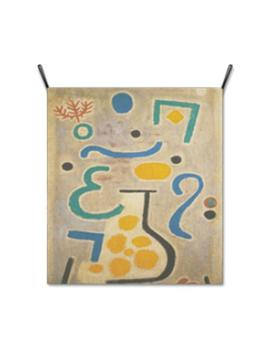 Wall Hanging Fabric Poster Cloth Printing Banner Tapestry Wall Decor Painting Artwork Die Vase By Paul Klee   Gm84066 by Etsy
