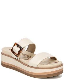 Agustine Platform Buckle Detail Sandals by Sam Edelman