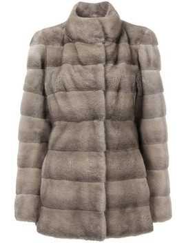 Valencia Short Fur Coat by Liska