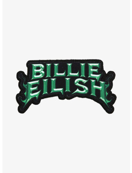 Billie Eilish Name Patch by Hot Topic