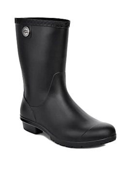 Sienna Matte Shearling Lined Rain Boots by Ugg