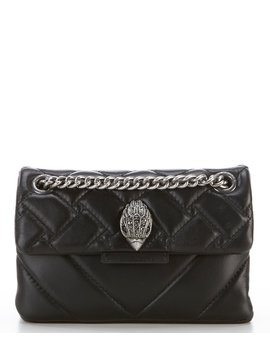 Kensington Mini Quilted Leather Crossbody Bag by Kurt Geiger