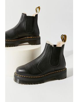 Dr. Martens 2976 Quad Faux Fur Lined Chelsea Boot by Dr. Martens