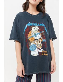 Metallica Harvester Of Sorrow Tour Glitter Tee by Urban Outfitters