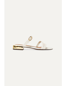 Granada Braided Leather Sandals by Souliers Martinez