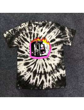 New Travis Scott Astroworld Sicko Tee Burning Train T Shirt Usa Hip Hop Men Women Best Quality Tie Dyeing O Neck Fashion T Shirt by Ali Express.Com