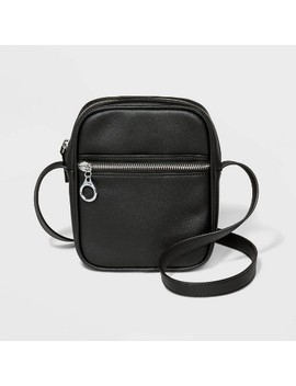 Zip Closure Crossbody Bag Black  Wild Fable™ by Wild Fable