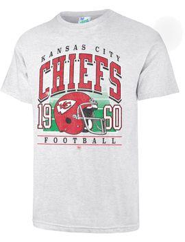 '47 Men's Kansas City Chiefs Tubular Grey T Shirt by '47