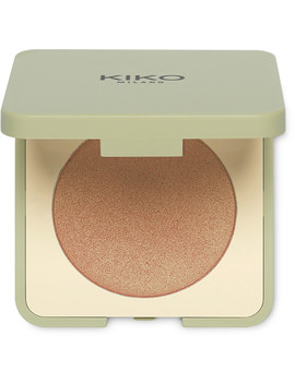 Online Only New Green Me Compact Highlighter by Kiko Milano