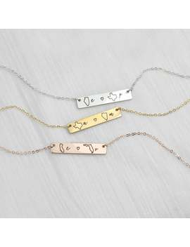 Personalized Necklace Best Friend Gifts Long Distance Relationship State Necklace Name Necklaces Friendship Personalized Gift   4 N Lds by Etsy