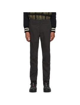 Black Long Boa® Trousers by Descente Allterrain