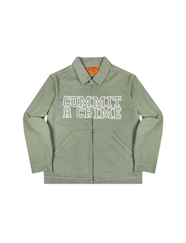 Ftp Commit Shop Jacket Olive by Stock X