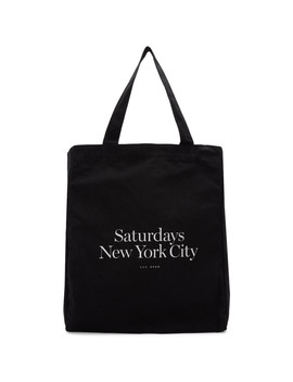 Cabas Noir Miller Standard by Saturdays Nyc