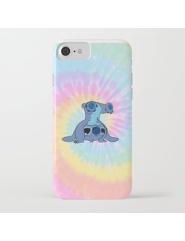 Stitch Rainbow I Phone Case by Society6
