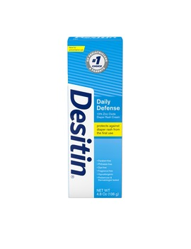 Desitin Daily Defense Baby Diaper Rash Cream With Zinc Oxide, 4.8 Oz by Desitin