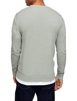 Twisted Classic Fit Crewneck Sweater by Topman
