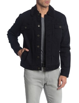Faux Shearling Lined Trucker Jacket by Rhythm
