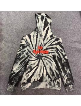 Astroworld Hoodie Men Women Hoodies 2019 Travis Scott Tour Black Tie Die Astroworld Sweatshirts No By Standers Logo Pullovers by Ali Express.Com