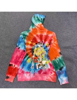 Men Women Hoodie Europe 2019 Tour Astroworld Hoodies Better Quality Tie Dyed Merch Ts Astroworld Pullovers Kanye West Indian by Ali Express.Com