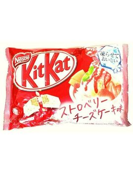 Japanese Kit Kat Strawberry Cheesecake Chocolates 13 Bars Japan Import New by Ebay Seller