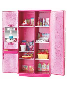 Barbie Basic Furniture Treats To Tv Fridge Play Set by Mattel