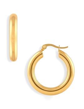 Zelda Medium Hoop Earrings by Ellie Vail