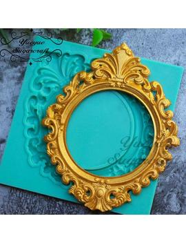 Victorian Ornate Frame Mold Baroque Filigree Fondant Mold Fancy Vintage Frame Chocolate Mold Candy Craft Biscuit Mold Flexible Soap Mold by Etsy