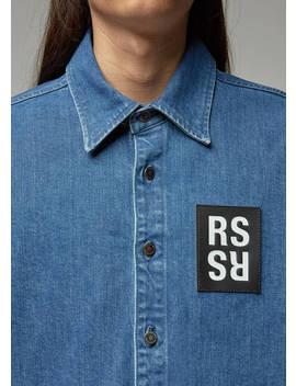 Carryover Slim Denim Shirt by Raf Simons