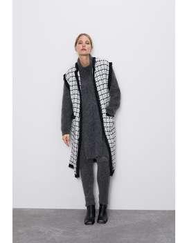 Tweed Vest by Zara