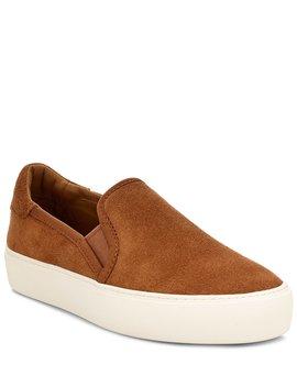 Ugg® Jass Suede Slip On Flatform Sneakers by Ugg