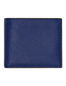 Blue 6 Cc Wallet by Valextra
