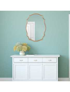 New!Gold Ornate Scalloped Mirror by Kirkland's