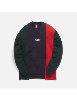 Kith Reverse Paneled Crewneck by Kith