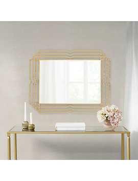 Gold Monroe Metal Mirror, 36x28 In. by Kirkland's