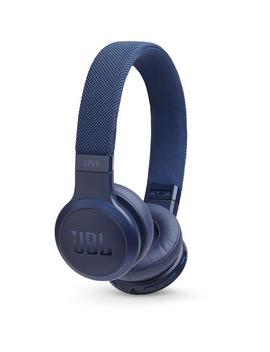 Jbl Live400 Bt Wireless On  Ear Headphones (Blue) by Jbl