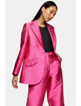 **Hot Pink Extreme Blazer By Topshop Boutique by Topshop
