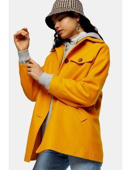 Marigold Yellow Shacket by Topshop