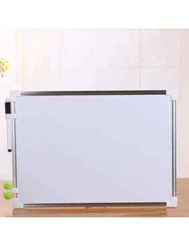 Double Side Whiteboard Office School Dry Erase Writing Board Pen Magnets Buttons by Ali Express.Com