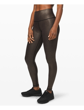 "Wunder Under High Rise Tight Foil 28""Full On™ Luxtreme by Lululemon"