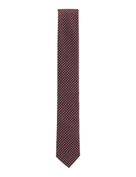 Micro Patterned Tie In Italian Jacquard Woven Fabric Micro Patterned Tie In Italian Jacquard Woven Fabric by Boss