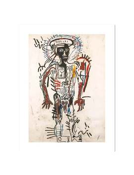 Jean Michel Basquiat, 'figure', Fine Art Print On Thick Archival Paper, Various Sizes Are Available by Etsy