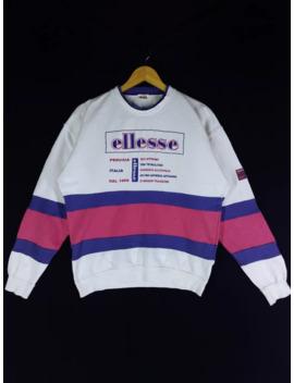 Rare!! Vintage Ellesse Sweatshirt by Vintage  ×  Japanese Brand  ×  Ellesse  ×