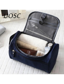 Uosc Makeup Bag Women Bags Men Large Waterproof Travel Cosmetic Bag Organizer Case Necessaries Make Up Wash Toiletry Cheap Bag by Ali Express.Com