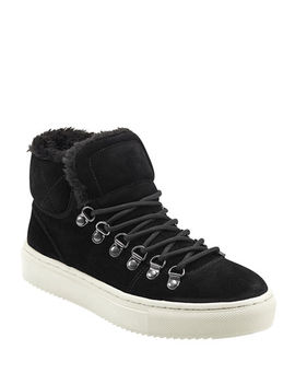 Daisie Faux Fur Sneakers by Marc Fisher Ltd