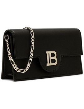 Metal Logo Chain Wallet Calf by Balmain