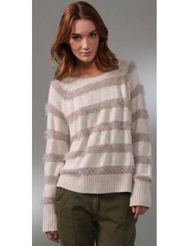 Rebecca Taylor Sparkle & Stripes Sweater S by Tsumori Chisato