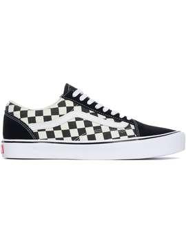 Checkerboard Old Skool Lite   Black/True White by Vans
