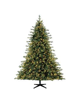 7.5 Ft. Pre Lit Led Northern Gale Spruce Artificial Christmas Tree With 1000 Sure Bright Color Changing Lights by Home Accents Holiday