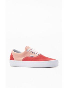 Vans Women's Red Era Sneakers by Pacsun