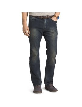 Izod Mens Comfort Stretch Relaxed Fit Jeans by Izod